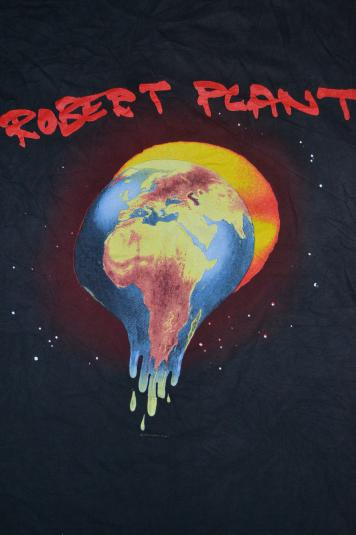 VINTAGE 1993 ROBERT PLANT FATE OF NATIONS WORLD TOUR T-SHIRT