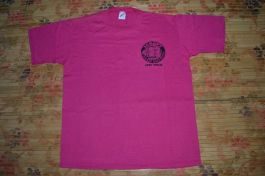 Vintage 1990 EUROPE Thru The Back Door Tour T-shirt