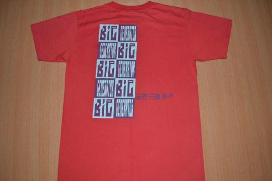Vintage YES 1987 Big Generator Tour Genesis T-shirt