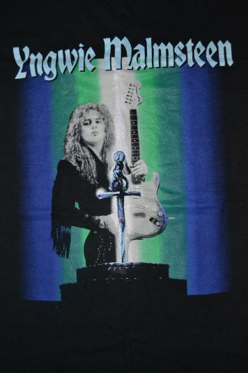 Vintage 1995 YNGWIE MALMSTEEN Magnum Opus Japan Tour T-shirt