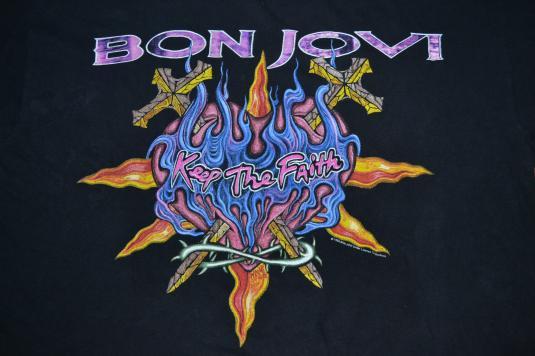 Vintage 1993 BON JOVI World Tour T-shirt