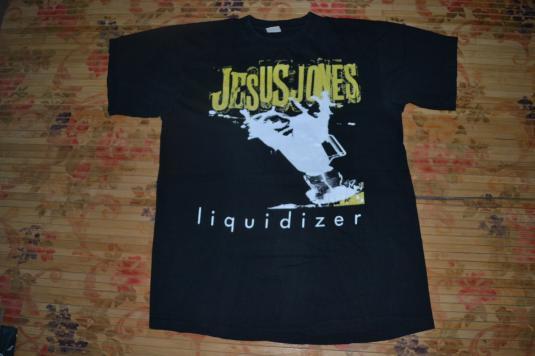 Vintage 1989 JESUS JONES Liquidizer Tour T-shirt