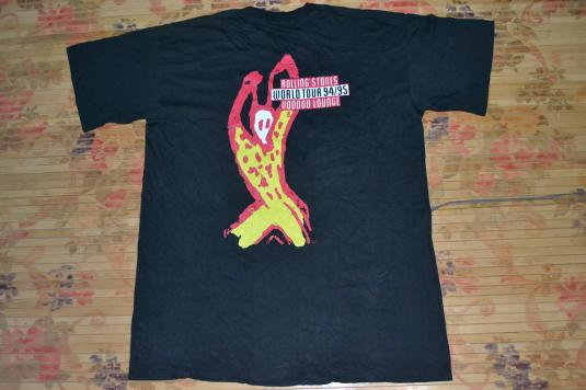 VINTAGE 1994 ROLLING STONES VOODOO LOUNGE WORLD TOUR SHIRT