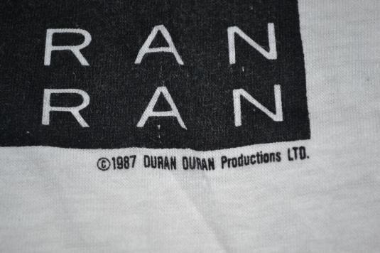 Vintage 1987 DURAN DURAN Strange Behaviour Promo T-shirt