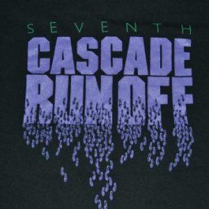 Vintage NIKE Cascade Run Off blue tag original 1984 T-shirt