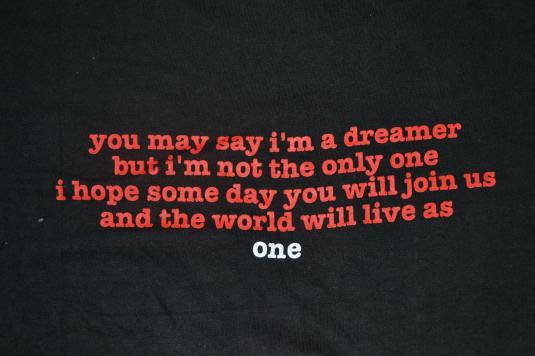 Vintage 1991 JOHN LENNON The Beatles T-shirt