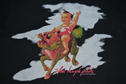 VINTAGE 1994 STONE TEMPLE PILOT CONCERT TOUR PROMO T-SHIRT