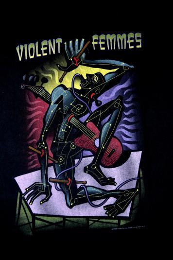 Vintage 1994 VIOLENT FEMMES Tour T-shirt