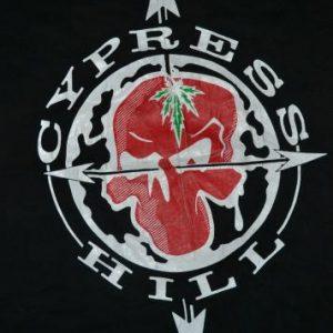 VINTAGE 90s CYPRESS HILL PROMO ALBUM CONCERT T-SHIRT