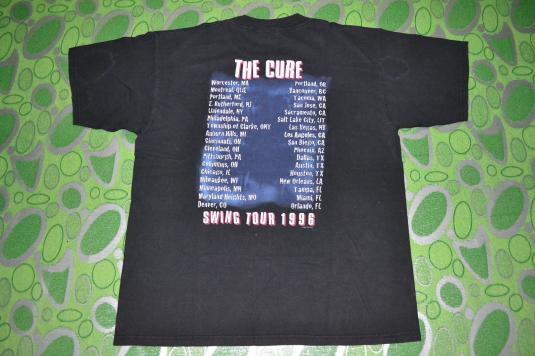 Vintage 90s THE CURE Wild Mood Swings Tour Concert t-shirt