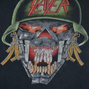 Vintage 1991 SLAYER Clash Of The Titans Megadeth Tour Tshirt