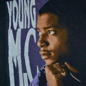 Vintage 1990 YOUNG MC Stone Cold Rhymin Hip Hop Tour T-shirt