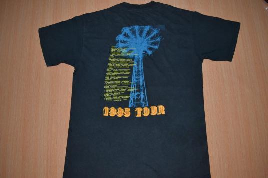 Vintage 1995 R.E.M. Tour Concert Promo album rare T-shirt