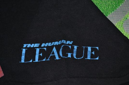 Vintage early 80s THE HUMAN LEAGUE Dare Tour Concert T-shirt