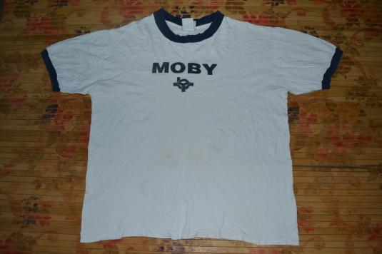 Vintage 90s MOBY Rave New World Tour Concert T-shirt