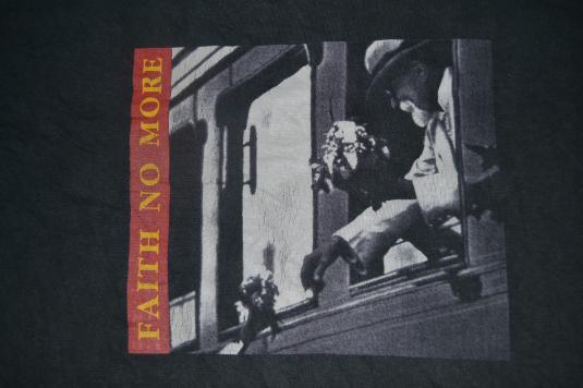 Vintage 1997 FAITH NO MORE Australasian Tour T-shirt
