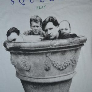 VINTAGE 1991 SQUEEZE PLAY NEW WAVE PROMO ALBUM T-SHIRT