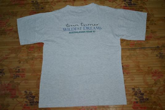 Vtg 90s TINA TURNER Wildest Dream Australasian Tour T-shirt