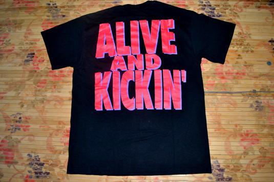 Vintage 1992 MR BIG Live and Kickin' promo T-shirt