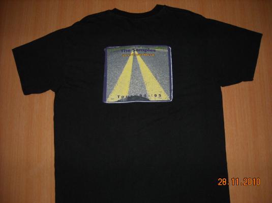 Vintage 1994 THE SAMPLES Autopilot Tour T-shirt