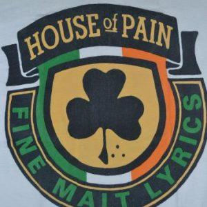 VINTAGE 90s HOUSE OF PAIN CONCERT TOUR PROMO ALBUM T-SHIRT