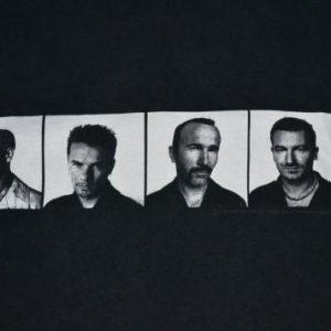 Vintage 90s U2 Pop Mart Tour Concert Promo album t-shir