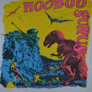 Vintage 1984 HODOO GURUS Stoneage Romeos Promo T-shirt