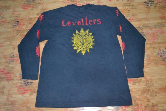 Vintage 90s LEVELLERS Tour Concert Promo T-shirt