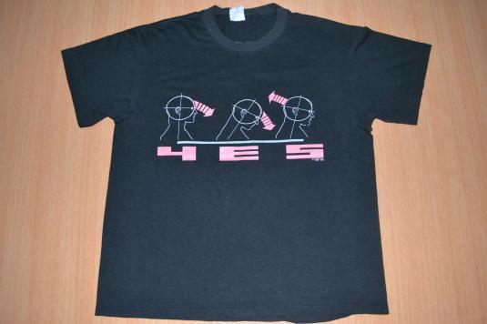 Vintage YES 1987 Big Generator Tour Concert T-shirt