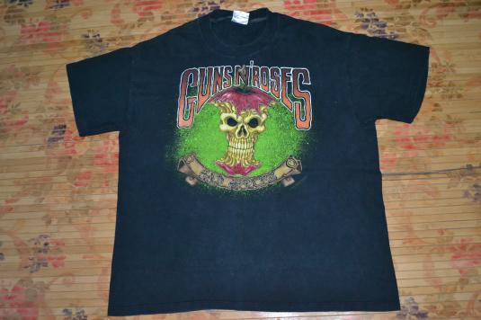 VINTAGE 1992 GUNS N ROSES BAD APPLES USE YOUR ILLUSIONS TOUR