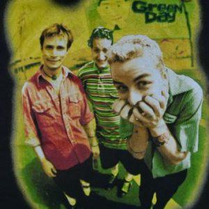 Vintage 1995 GREN DAY Insomniac promo T-shirt