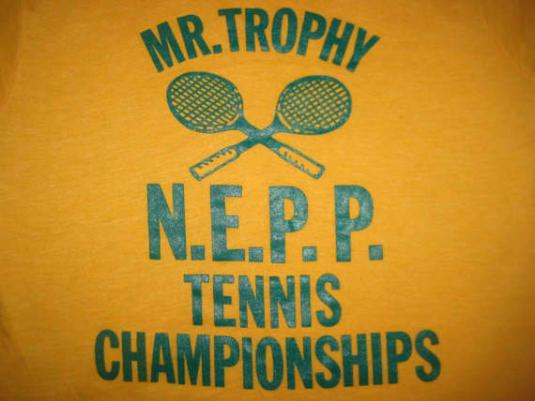 Vintage 1980's tennis champion t-shirt, Screen Stars, XS S