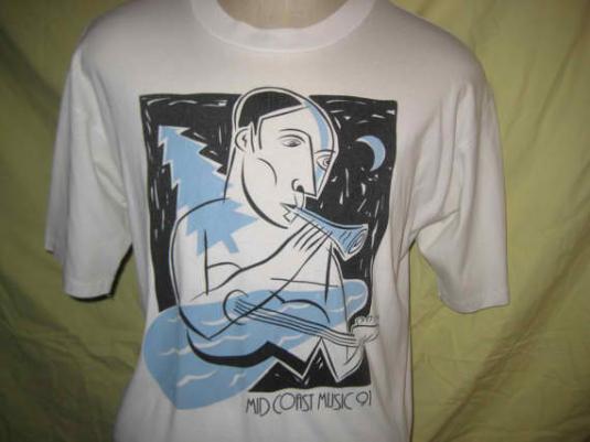 1991 music festival vintage t-shirt, XL
