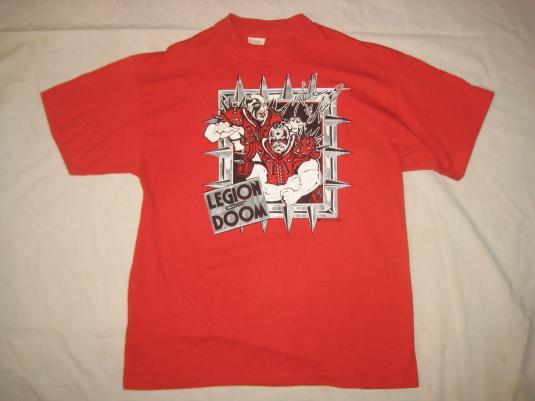 Vintage 1990 WWF Legion Of Doom t-shirt