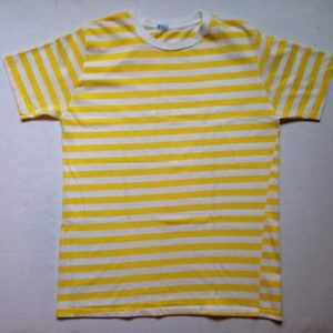 Vintage 1950's-1960's plain striped t-shirt