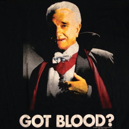 Vintage 1995 Dracula- Dead and Loving It movie t-shirt