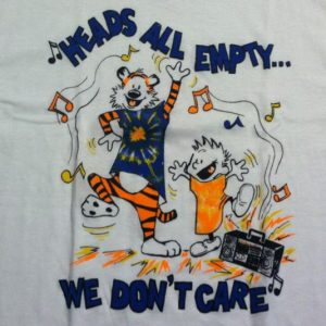 Vintage 1980's Calvin and Hobbs, Grateful Dead t-shirt