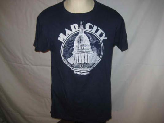 Vintage 1970's t-shirt, Madison, Wisconsin, L X