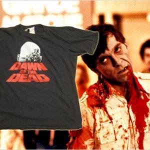 Vintage Rare 1970's Dawn of the Dead movie t-shirt, M-L