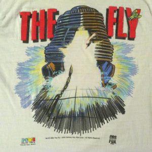 Vintage 1986 The Fly David Cronenberg horror movie t-shirt