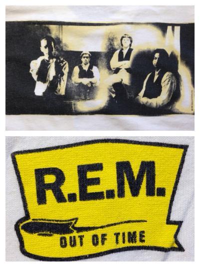 Vintage 1991 REM Out Of Time t-shirt