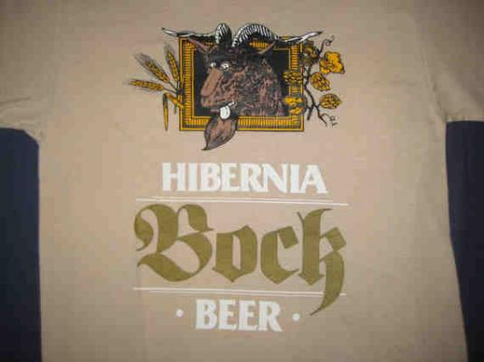 1970's Hibernia Bock Beer vintage t-shirt, S