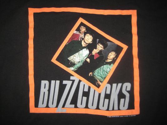 1989 Buzzcocks vintage t-shirt, L-XL