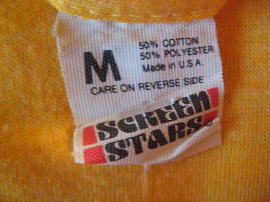 Vintage 1980's tennis champion t-shirt, Screen Stars, S M