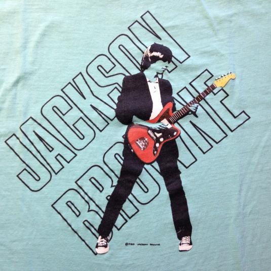 Vintage 1983 Jackson Browne Lawyers In Love t-shirt