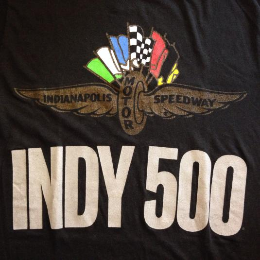 Vintage 1980's Indianapolis 500 Indy t-shirt