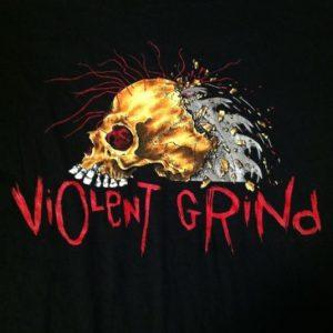 Vintage Violent Grind Pushead Japan skateboard t-shirt