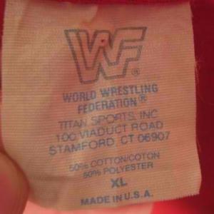 Vintage 1990 Legion of Doom WWF wrestling t-shirt, XL