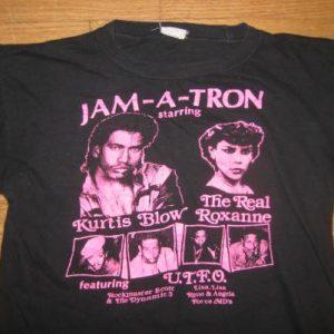 Vintage Rare 1985 old school rap hip hop t-shirt Kurtis Blow