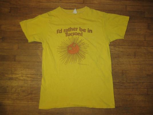 Vintage 1970's- 1980's super cute Tucson, AZ t-shirt